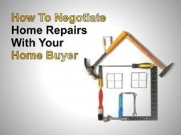 How to negotiate home repairs with your home buyer | Atlanta Real Estate By Telmo Bermeo | Scoop.it