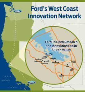 Ford va ouvrir un laboratoire de recherche dans la Silicon Valley ... | Automobile | Scoop.it