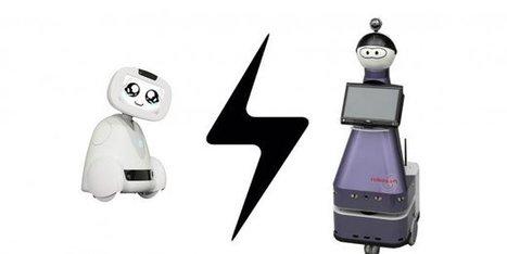 Robots d'assistance : le match franco/français est lancé | Une nouvelle civilisation de Robots | Scoop.it