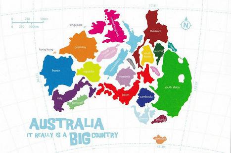 Twitter / The Travel Magazine: Did you realise how big #A ... | Magic Australia | Scoop.it