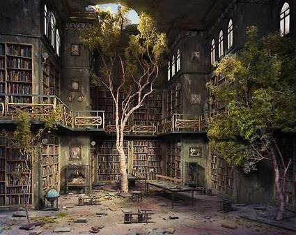 Twitter / AwkwardGoogle: abandoned library ... | bibliotheque | Scoop.it