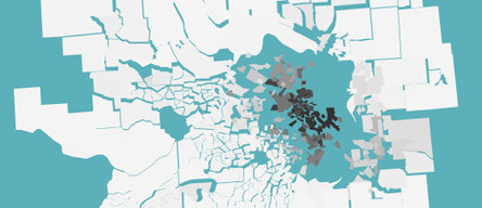 Maps Mania: Mapping America's Segregated Cities | Urbanisme | Scoop.it