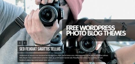 35 Custom Design Free WordPress Photography Themes - Weblees | Magento | Scoop.it