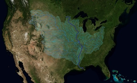The Rivers of the Mississippi Watershed | Lorraine's  Water in the World | Scoop.it