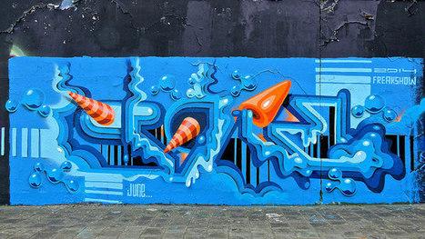 Delft Graffiti | Street Art and Street Artists | Scoop.it