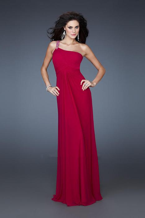 Fuchsia One Shoulder Open Back Long Prom Dresses by La Femme 18288 [La Femme 18288] - $170.00 : La Femme Outlet, 60% Off La Femme Sale Online | gownprincess | Scoop.it