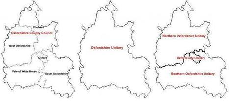 Oxfordshire councils shake-up: One authority or three? The pros and cons   LACEF News   Scoop.it