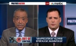 Al Sharpton Rips Gun Rights Advocate For Slavery Remark: You Do Realize MLK 'Was Killed By A Gun'? | Mediaite | MLKJ | Scoop.it