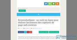 Screenshot Machine : un autre outil en ligne de capture d'écran de pages web entières | Bazaar | Scoop.it