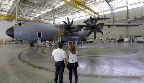 Airbus da salida a cuatro A400M en mes y medio y duplica las entregas | Sevilla Capital Económica | Scoop.it