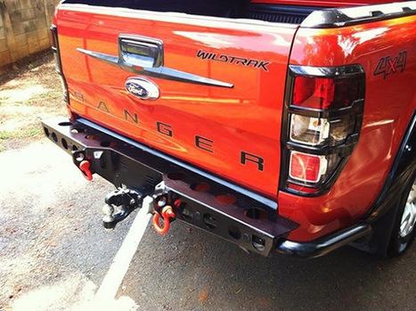 Độ cản sau Ford Ranger YAK Thái Lan - Nắp thùng xe bán tải Hilux, Navara Np300, Ford Ranger, Triton, BT50 | Dịch vụ điện lạnh | Scoop.it