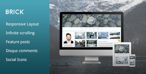 Brick – A Responsive Grid Tumblr Theme (Tumblr) | Tumblr Templates Download | Scoop.it
