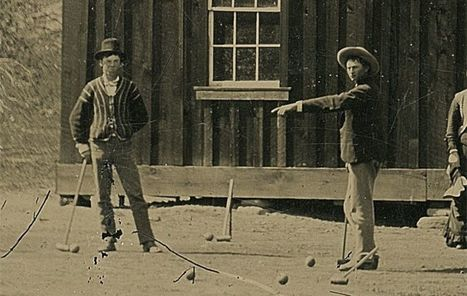New image shows Billy the Kid playing croquet | Fox News | xposing world of Photography & Design | Scoop.it