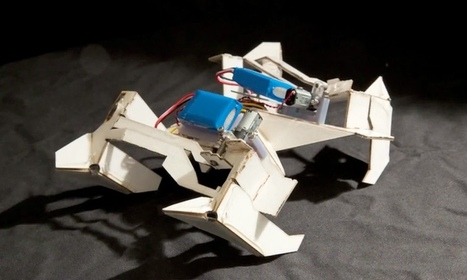 Origami robot could be used on battlefield, say Creators | IV Technology Las Vegas | Scoop.it