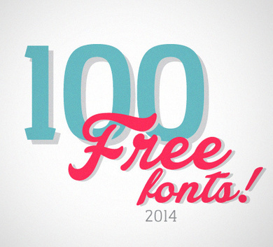 The 100 Greatest Free Fonts for 2014 | Type, Typography, Letterforms, Fonts | Scoop.it