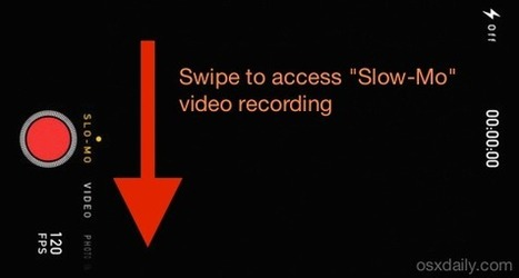 How to Record Slow Motion Video with the iPhone Camera | Educational technology , Erate, Broadband and Connectivity | Scoop.it