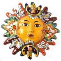 Talavera Sun Faces: Ceramic Mexican Wall Art To Add Warmth And Color To Your Home Christmas 2012 | Shopping Mania | Scoop.it