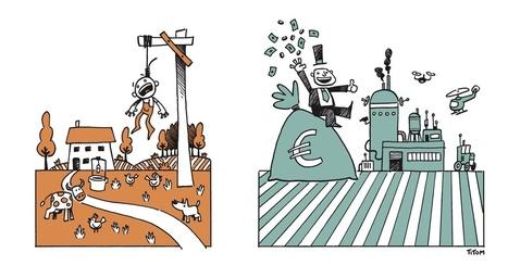 Le TTIP, c'est la victoire de l'agro-business contre la petite agriculture familiale | Questions de développement ... | Scoop.it