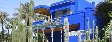 Marrakech : Jardin Majorelle, dans les pas d'Yves Saint Laurent | Guide évasion | Voyage au Maroc par les élèves du Lycée Renée Bonnet | Scoop.it