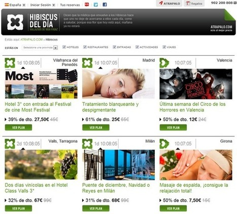 Viajar por Internet: ATRAPALO entra de lleno en los Daily Deals | Couponing | Scoop.it