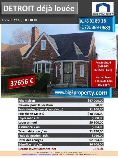 Nouvelles maisons pour 37600€ ! | Real estate USA | Scoop.it