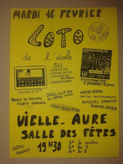 Loto de l'école de Vielle-Aure le 16 février | Vallée d'Aure - Pyrénées | Scoop.it