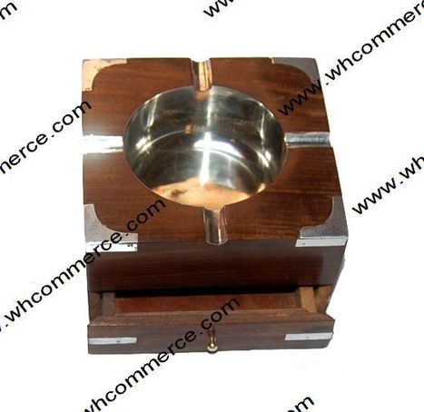 Wooden Ash Tray With Drawl | Wooden Ash Tray | Scoop.it