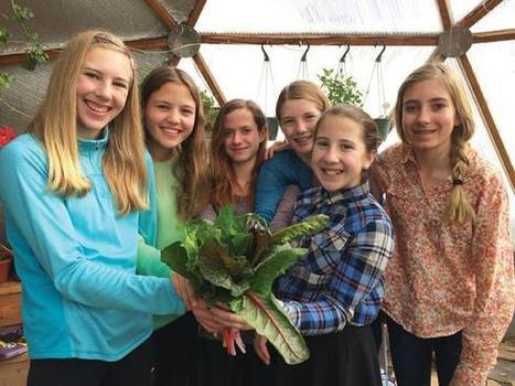 The grow dome girls - Norwood Post | Food | Scoop.it