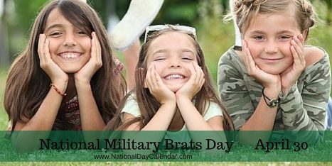 NATIONAL MILITARY BRATS DAY - APRIL 30 | Nerd Vittles Daily Dump | Scoop.it