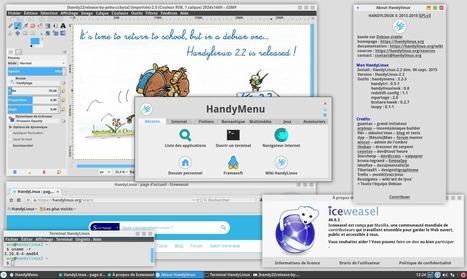 HandyLinux-2.2 est disponible avec un HandyMenu configurable et une version 64 bits à tester   Actualités de l'open source   Scoop.it