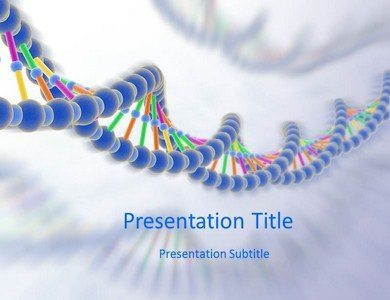 Download DNA Processing PowerPoint Template online | Medical PPT Templates | Scoop.it