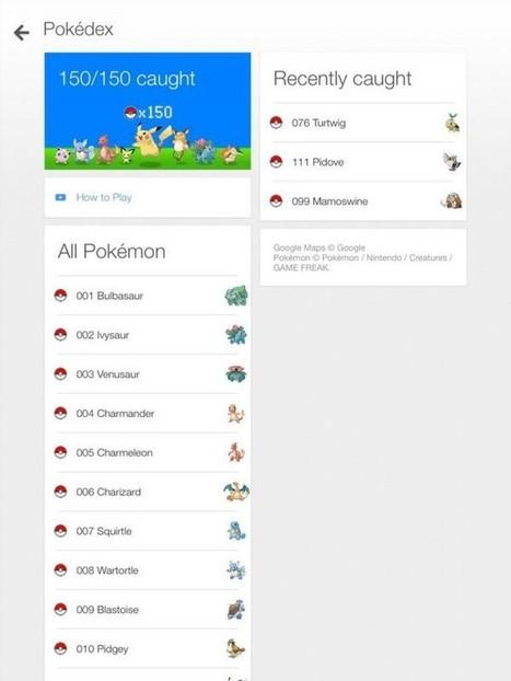 Google Maps : attrapez tous les Pokemon pour le 1er avril ! | Google (For school) | Scoop.it