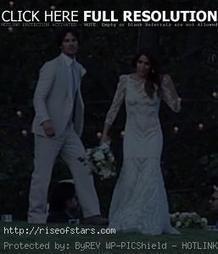 Nikki Reed and Ian SomerhalderShare wedding video with world | World News | Scoop.it