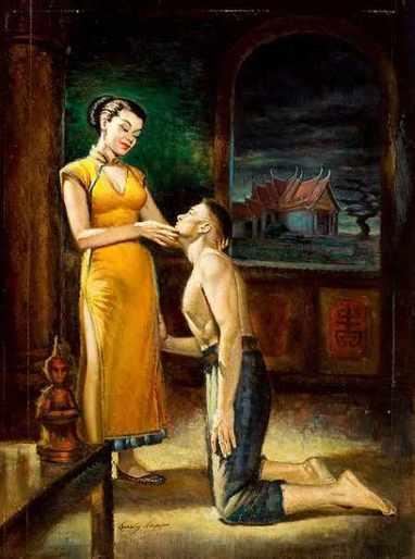 Kneeling Before Her by Irv O. Neil | M3 - Meat Male Magazine - Carne de hombre | Scoop.it