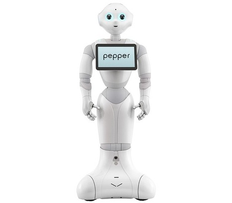"Meet Pepper, Aldebaran's New Personal Robot With an ""Emotion Engine"" - IEEE Spectrum 