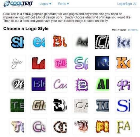 Réaliser des titrages, Cool Text   Les Infos de Ballajack   Boite à outils   Scoop.it