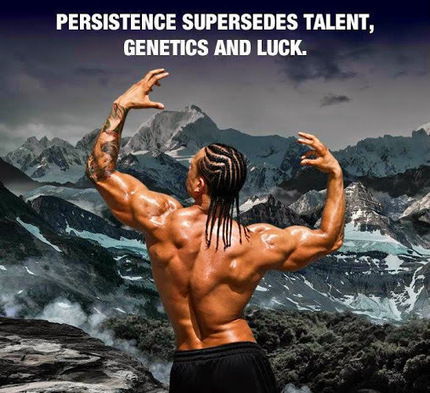 Be Persistent in Reaching All Your Goals!   Fitness Motivation   Scoop.it