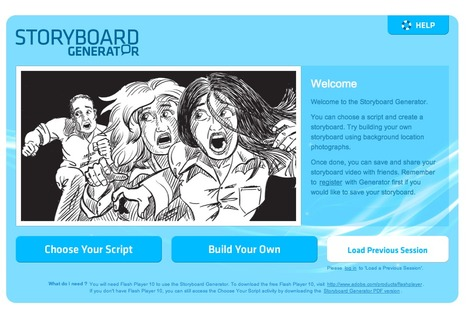 ACMI Generator - A Storyboard Generator | E-Learning Suggestions, Ideas, and Tips | Scoop.it
