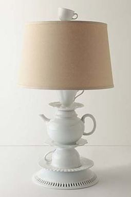 Teapot and Cup Lamp | DIY Craft Ideas For The Home | Scoop.it