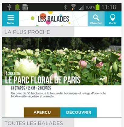 [Appli]Découvrez des balades écolos à Paris   bio nature   Scoop.it