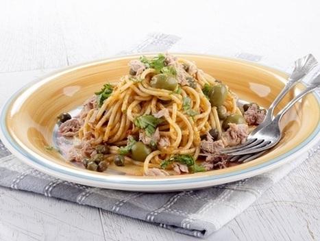 Spaghetti sans gluten au thon et au citron | Recettes Mieux Vivre par Auchan | Scoop.it