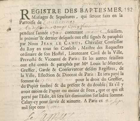 Archives et recherches généalogiques - Site internet de la ville d'Eaubonne | Nos Racines | Scoop.it