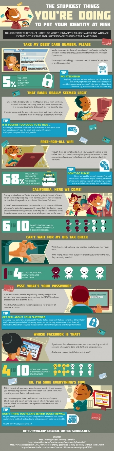 Protecting Your Online Identity | Infographic | Internet Marketing(ppc,seo, smo) | Scoop.it