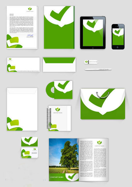 23 Free Sets Of Branding/ID Mockup Templates (PSD) To Present Your Company In a Modern Way | Marketing Mix | Scoop.it