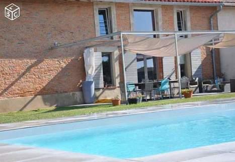 3mn péage Villefranche,ferme lauragaise sur 2200m2 Ventes immobilières Haute-Garonne - leboncoin.fr | Toulouse & son économie | Scoop.it