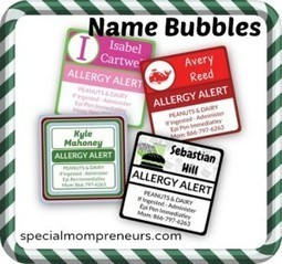 {GIVEAWAY} Name Bubbles Personalized Name Labels | Special Needs Parenting | Scoop.it