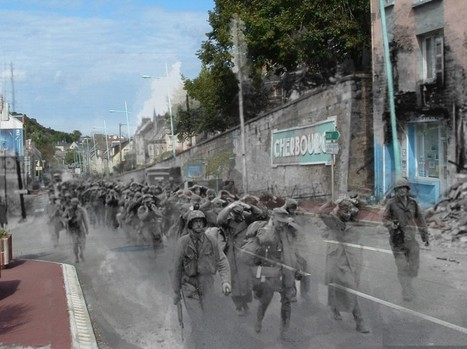 PHOTOS. Des soldats fantômes en Normandie   Rhit Genealogie   Scoop.it