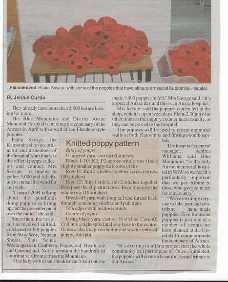 Getting ready for Anzac Day in Australia : a primary school perspective — Medium   WW1 teaching resources   Scoop.it