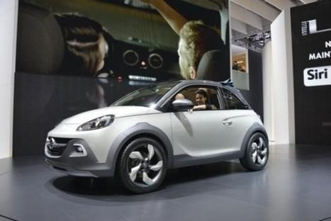 Genève 2013 : Opel Adam Rocks | Auto , mécaniques et sport automobiles | Scoop.it