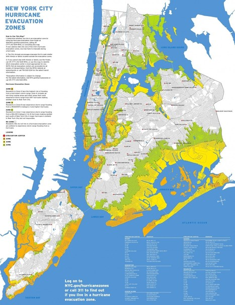 New York Readies Evacuation Plans for Hurricane Landfall [MAPS] | Mapping NYC hurricane | Scoop.it